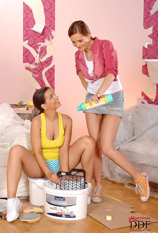 Eve Angel & Sandra Shine