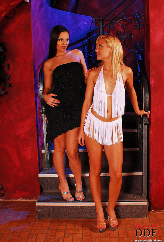 Eve Angel & Nancy Bell