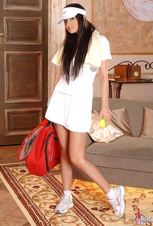 Angel Kiss tennis nudes - Hot Legs and Feet