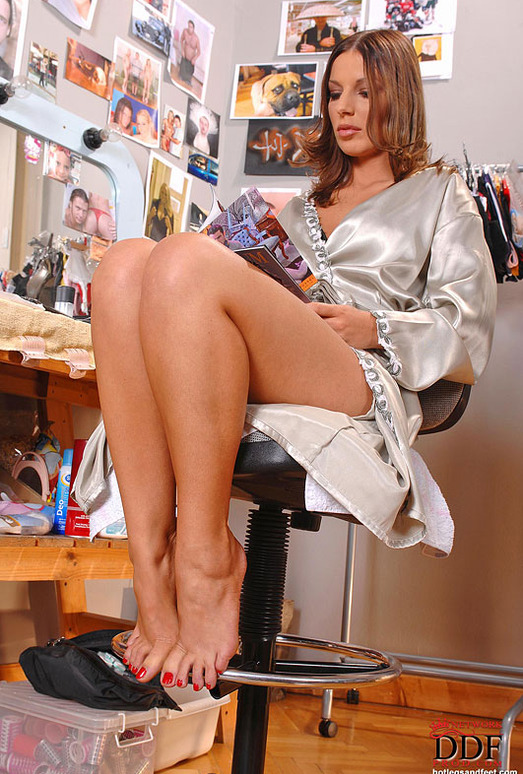 Debbie White - Hot Legs and Feet