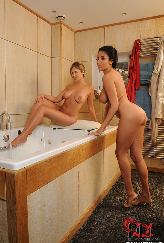 Anissa Kate & Eva Parcker - Hot Legs and Feet