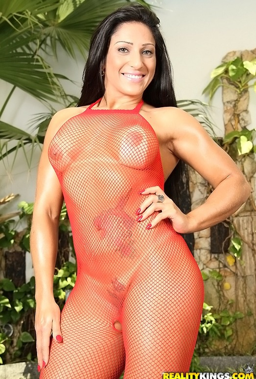 Stephany Rodrigues - All Fishnet - Mike In Brazil