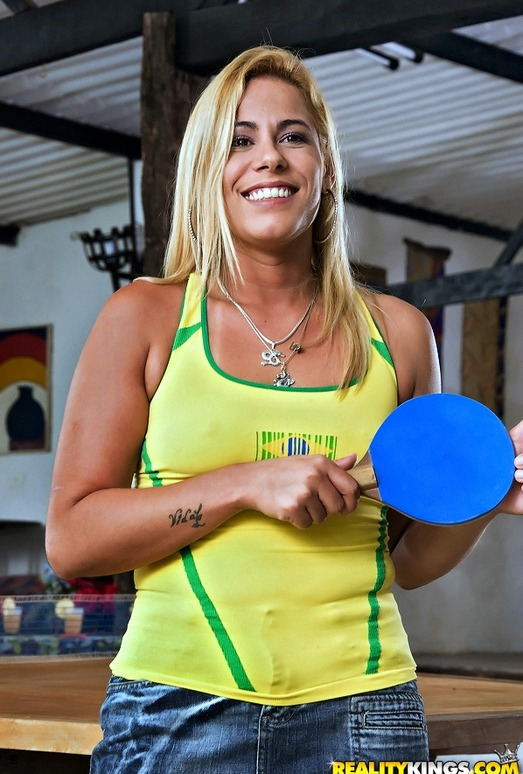 Karina Baccchi - Ping Pong Pussy - Mike In Brazil