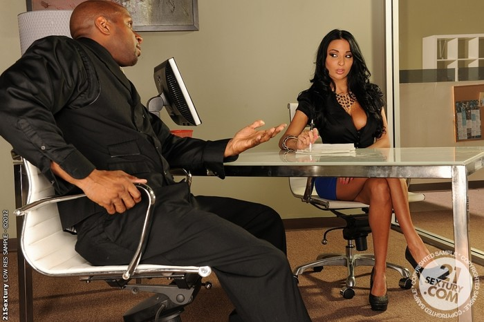 Anissa Kate - Boss takes black - 21 Sextury