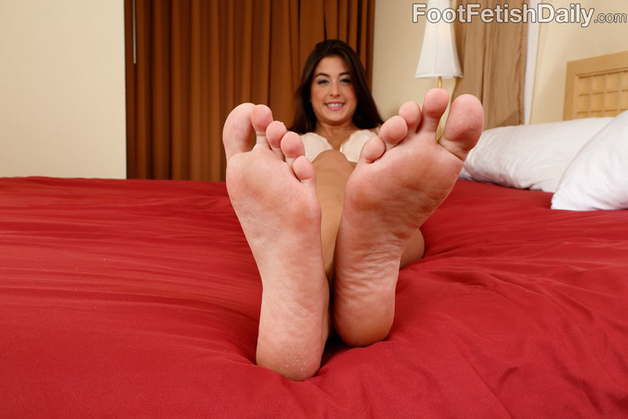 Natalie Monroe - Foot Fetish Daily