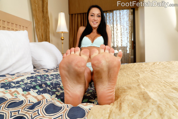 Sabrina Banks - Foot Fetish Daily