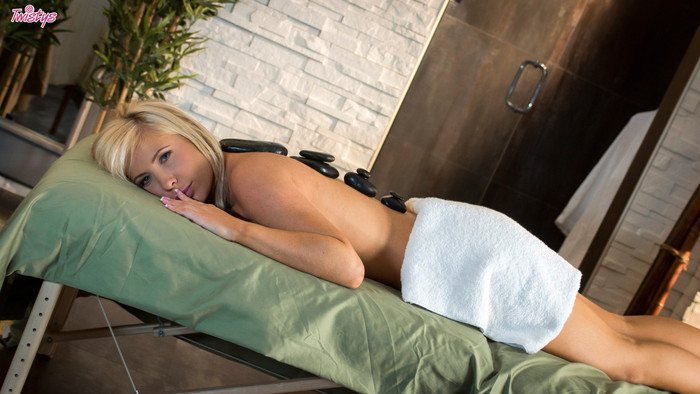 Tasha Reign Spreads Her Legs And Rubs Her Hungry Snatch
