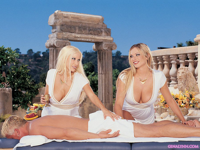 Gina Lynn and Brianna Banks