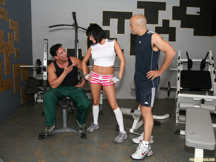 Tory Lane Wanted A Work Out... And Got It