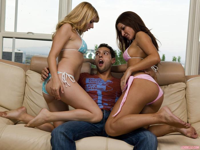 Never Enough Lexi Belle/Ann Marie Rios Threesomes