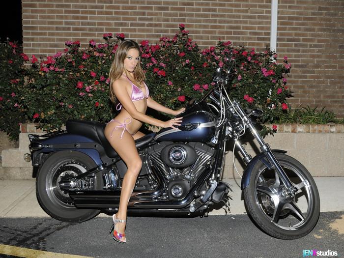 Jenna Haze - Biker Babe Bikini Body