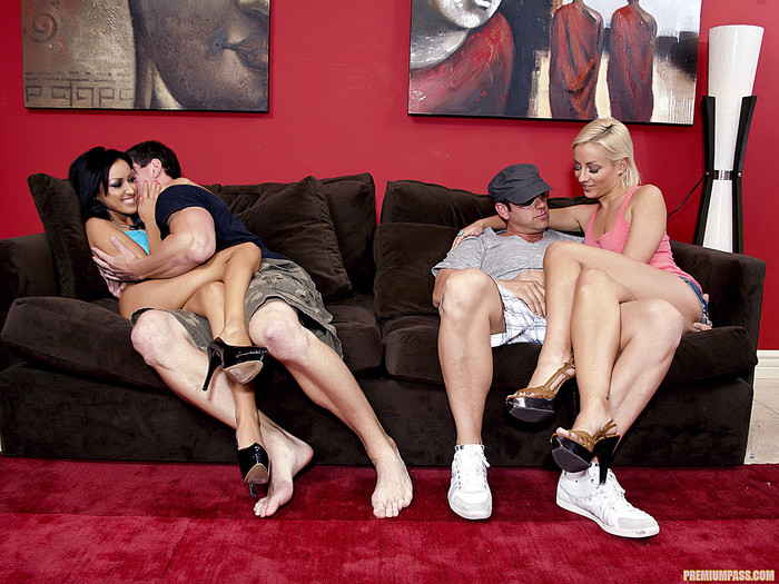 Group Sex with Lexi Swallow and Breanne Benson