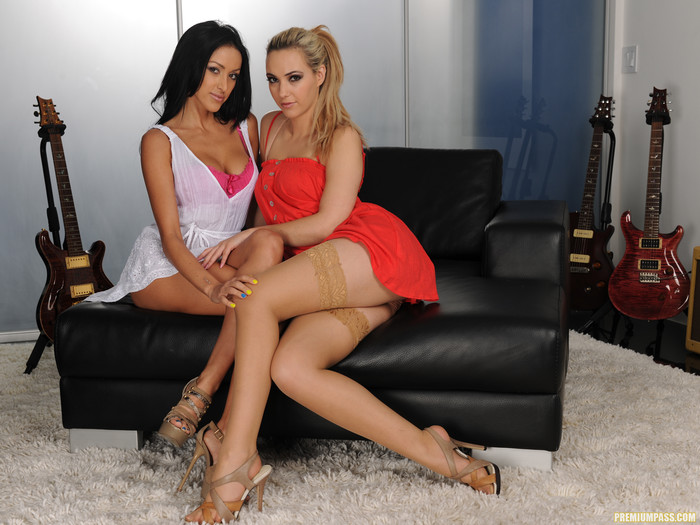 Breanne Benson and Sophia Knight's Stayover