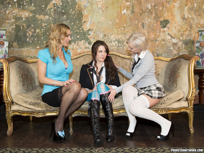 Tanya Tate, Faye Taylor, and Samantha Bentley