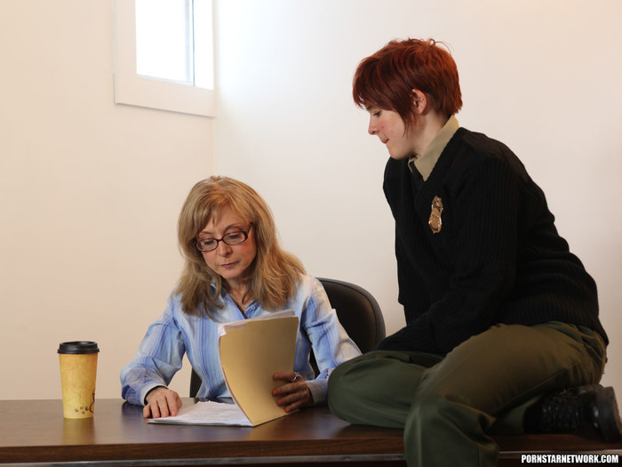 Lily Cade, Lotus Lain, and Nina Hartley - Training Meeting