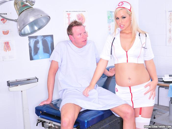 Tara Lynn Foxx - Naughty Nurse with a Nice Pussy