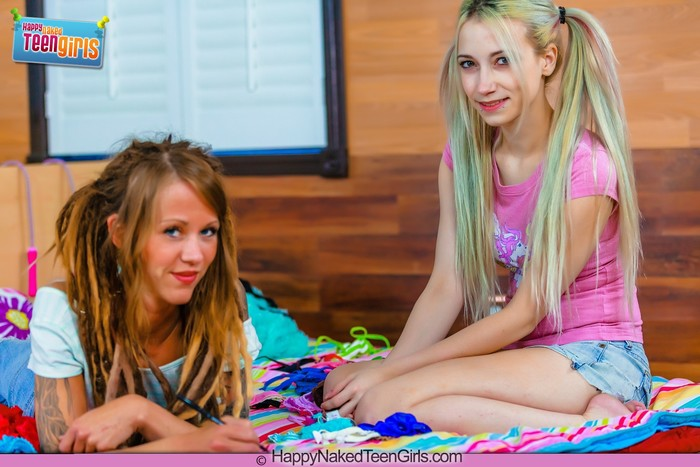 My First Girl Sex - Ranie Mae - Happy Naked Teen Girls