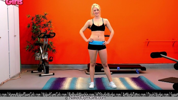 Special Guided Nude Workout! - Delilah Blue