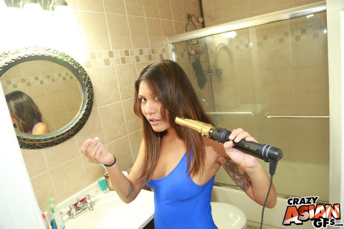 Mena Li - Pussy Primping - Crazy Asian GFs