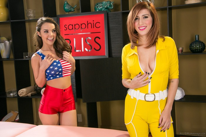 April O'Neil, Dillion Harper - Super Girls
