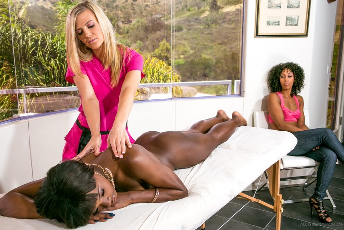 Amanda Tate, Ana Foxxx, Misty Stone - This Spa Has Secrets