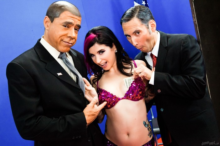 Joanna Angel, Guy DiSilva - Undecided Voter