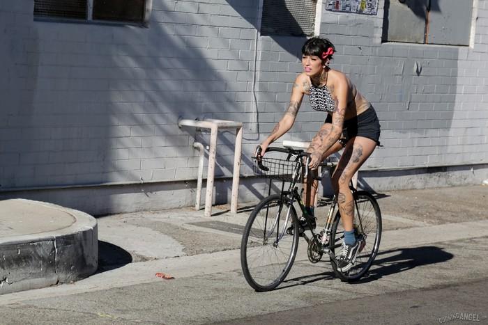 Aayla Secura - Bicycle Babe