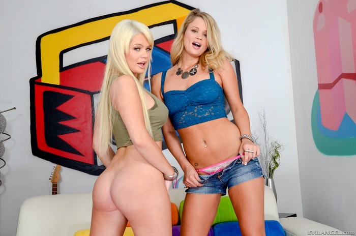 Heather Starlet, Alexis Ford - Too Much Anal