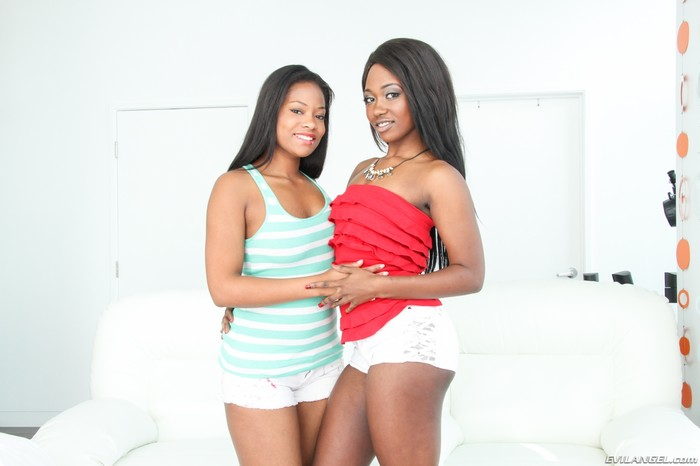Monique Symone, Skyler Nicole - Sloppy Cocksuckers #02