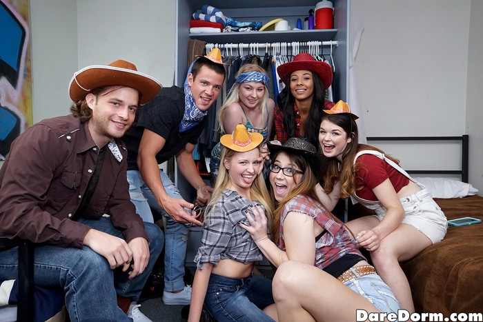 Anastasia Rose - Western Party - Dare Dorm