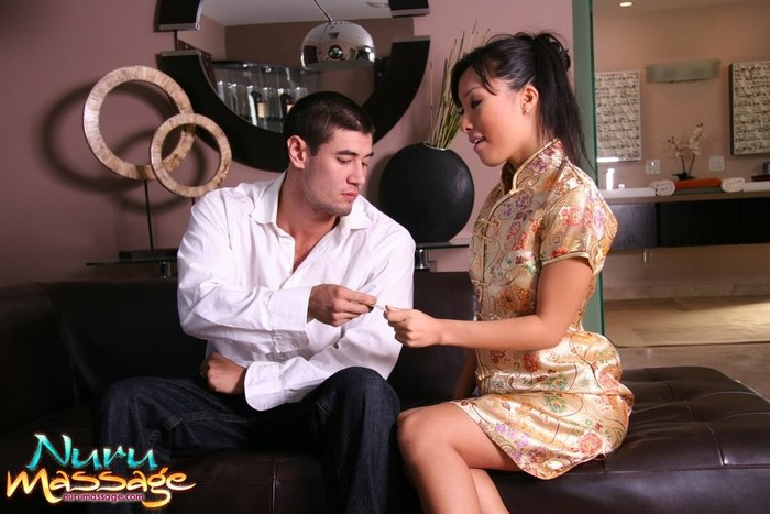 Asa Akira - Down In The Dumps - Fantasy Massage