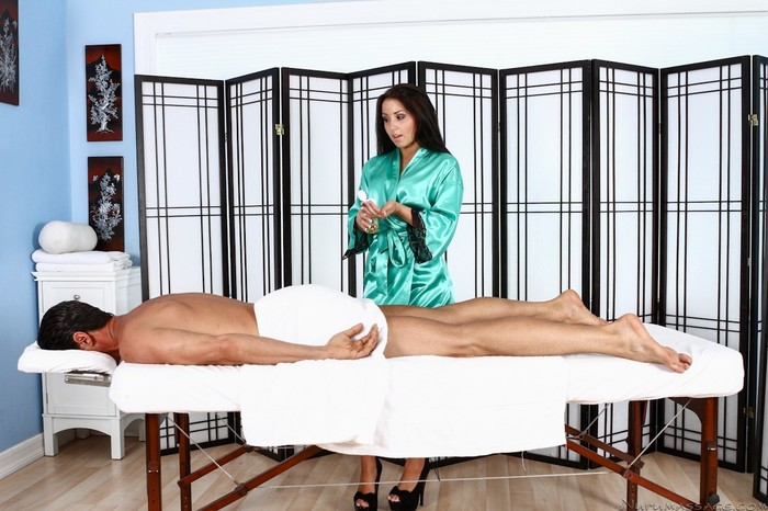 Lola Foxx - Mr. Manning - Fantasy Massage