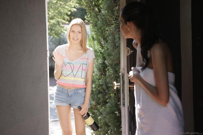Elizabeth Rose, Camila - Meeting My Neighbor - Girlsway