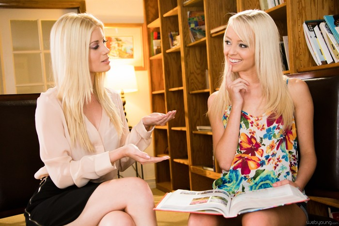 Lady Lessons Part Four: The Tutor - Girlsway