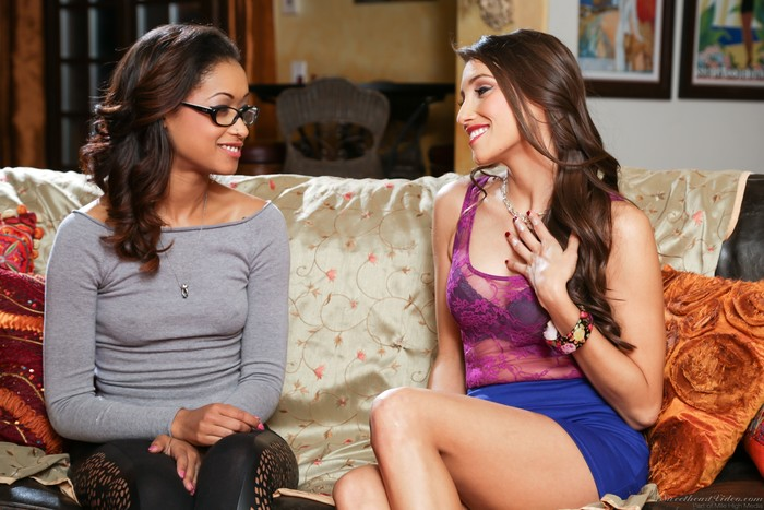 Skin Diamond, Celeste Star - Lesbian Office Seductions #09