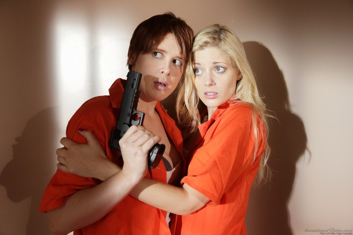 Lily Cade, Charlotte Stokely - Prison Lesbians