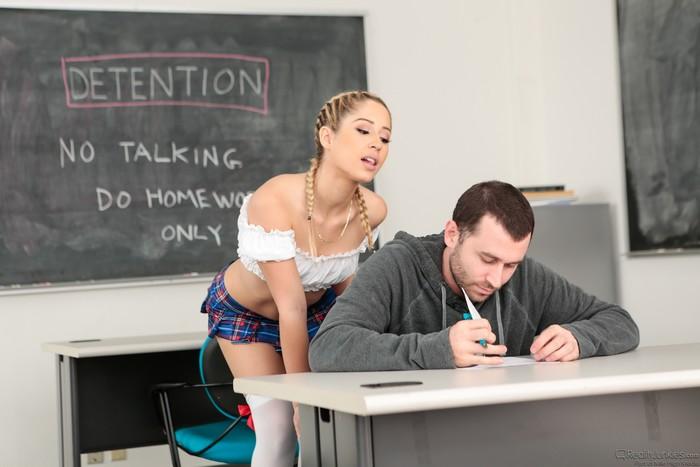Goldie Rush - Ex-girlfriends Make detention worth it!