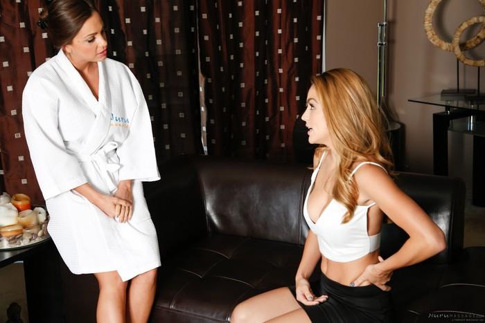 Abigail Mac, Ryan Ryans - Treat The Wife - Fantasy Massage
