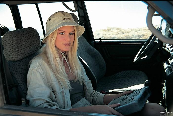 Claudia Jackson Crosses Through the Desert
