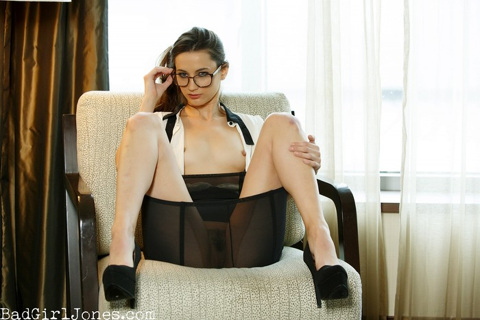 Georgia Jones - Naughty-Secretary - Bad Girl Jones