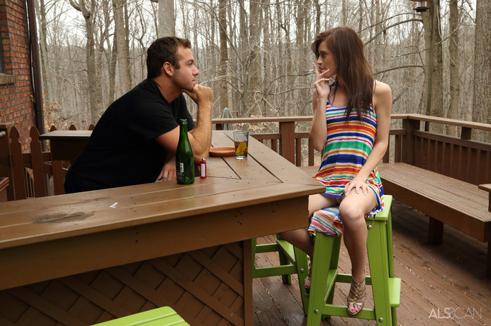Chad White, Emma Stoned - Barkeep - ALS Scan