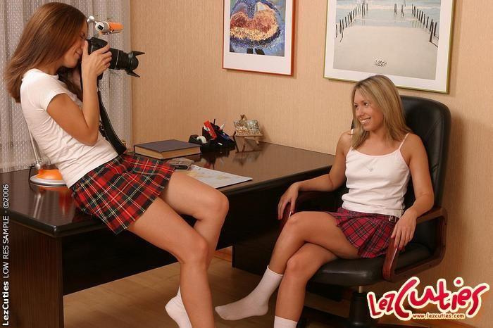 Aliza & Lilja Eating Pussy - Lez Cuties
