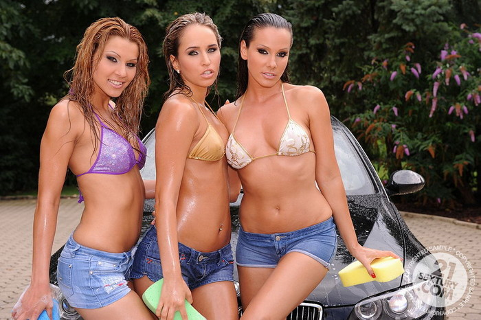 Sandy, Cindy Hope, Aleksa Diamond