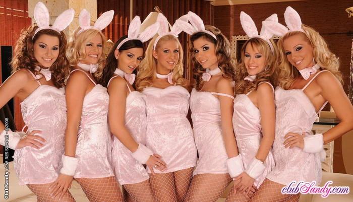 Sandy, Eve, peaches, Clara, Hope