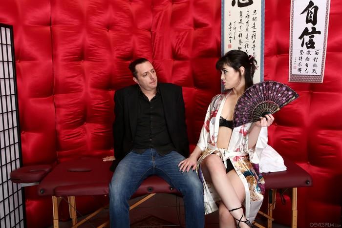 Audrey Noir - Asian Strip Mall Massage #03