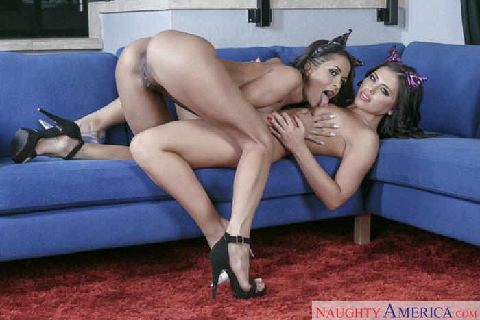 Abby Lee Brazil & Adriana Chechik - 2 Chicks Same Time