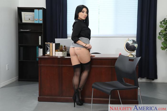 Rina Ellis - Naughty Office