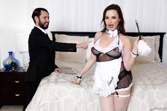 French Anal MILF Maids - Dana DeArmond - Burning Angel