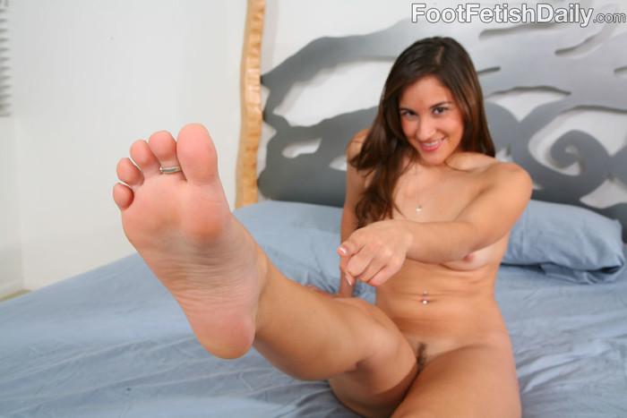 Mimi Blaze Flexible Feet Posing