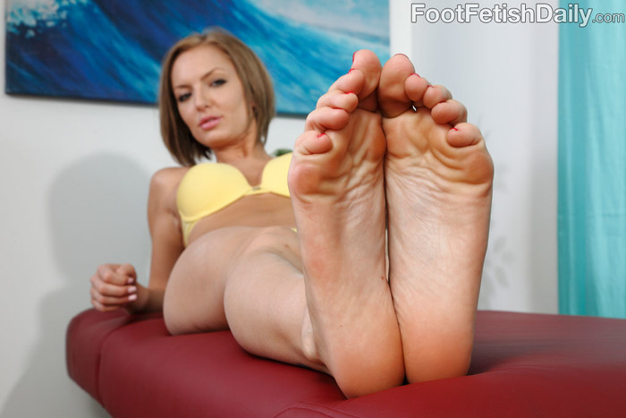 Taylor Tilden - Foot Fetish Daily
